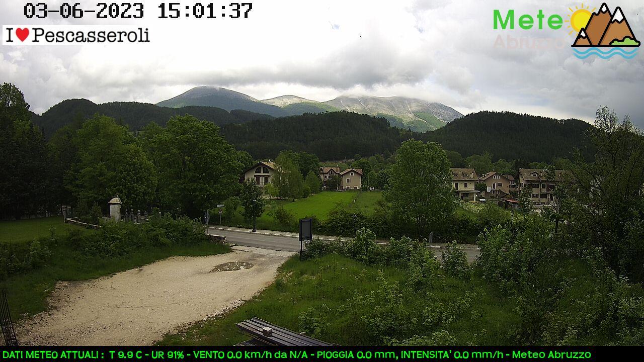 Webcam Pescasseroli -Delfina- 1100m slm
