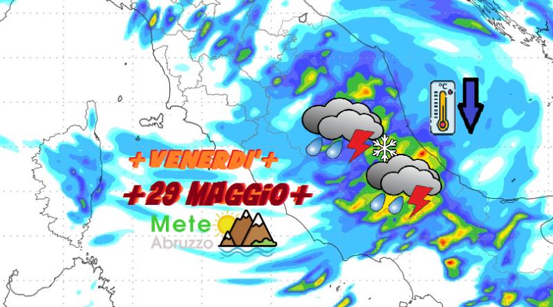 Previsioni meteo OGGI e DOMANI 28-29 Maggio 2020! Clima fresco in attesa di temporali e di molta instabilità! – Meteo Abruzzo