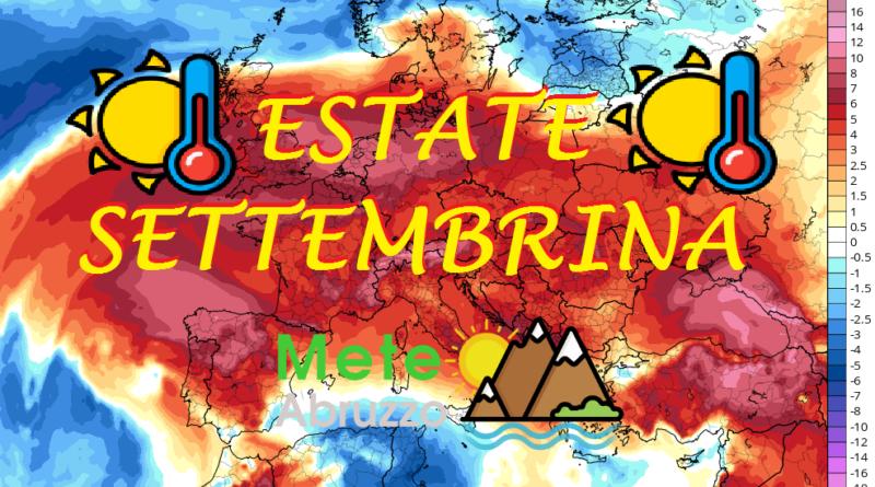 METEO WEEKEND 12-13 Settembre 2020: estate settembrina con alta pressione e caldo! – Meteo Abruzzo