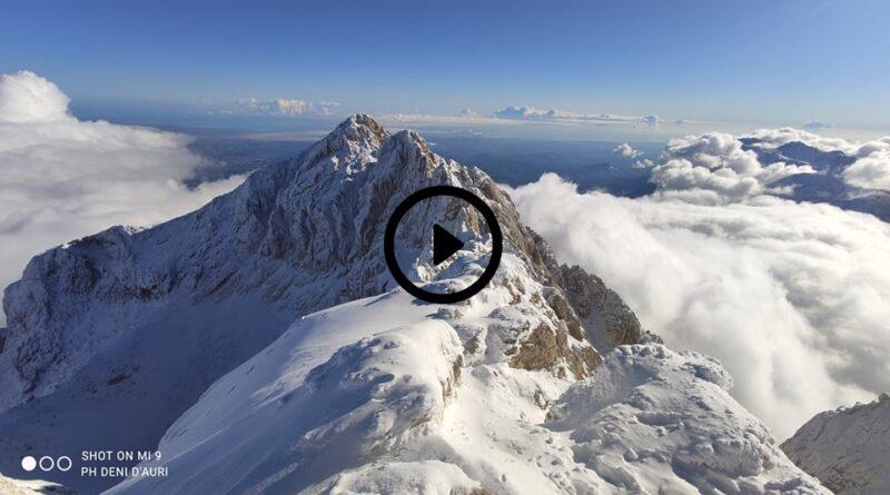[FOTO&VIDEO] Il Gran Sasso vestito di bianco come nel regno dei ghiacci di FROZEN! – Meteo Abruzzo