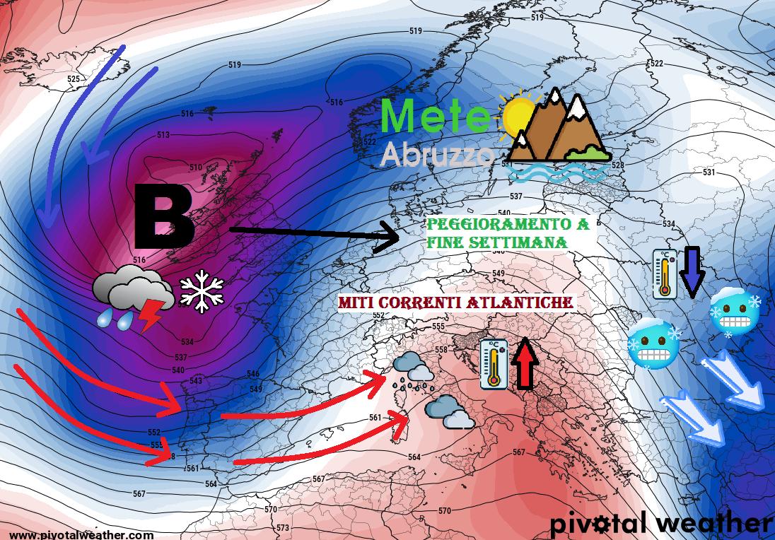 METEO OGGI e DOMANI 20-21 Gennaio 2021: miti correnti ...