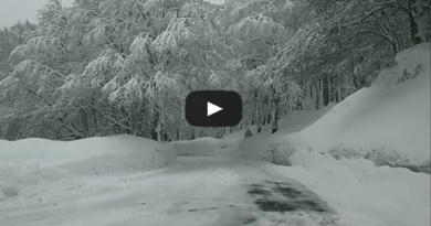 [VIDEO] Nuova neve a Forca d'Acero (AQ) : video in diretta dal valico!  – Meteo Abruzzo