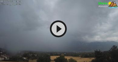 [VIDEO] L'INSTABILITA' ATMOSFERICA della scorsa settimana dalla webcam di SULMONA (AQ) – Meteo Abruzzo