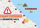 CALDO ESTREMO in Abruzzo: superati i 42°C a PESCARA – Meteo Abruzzo