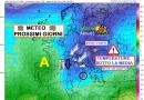 NUOVO IMPULSO FREDDO: temperature fortemente sottomedia e neve fino a 1300 metri – Meteo Abruzzo